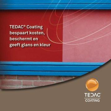 TEDAC® Coating bespaart kosten, beschermt en geeft glans en kleur