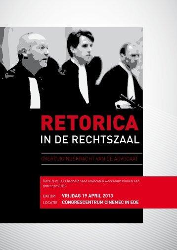 IN DE RECHTSZAAL - College 24