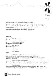 Referat af skolebestyrelsesmøde torsdag d. 20. august 2009 Til ...