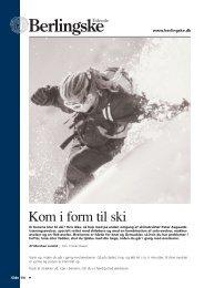 Kom i form til ski - Berlingske