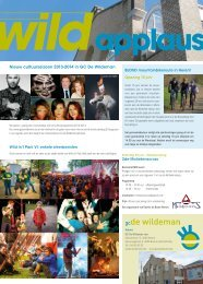 Wild Applaus juni 2013 - Gemeente Herent