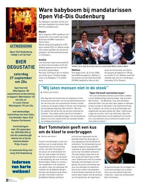 2008 - nr. 3 - Open VLD Oudenburg