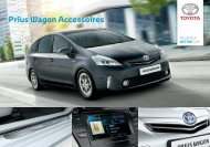 Toyota Prius Wagon accessoires Brochure Nederland