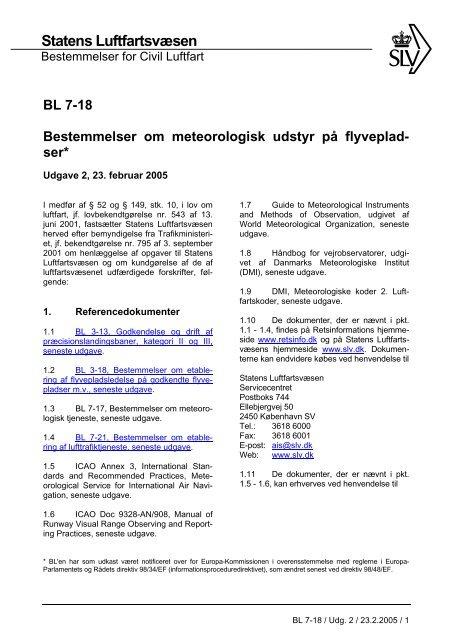 BL 7-18, 2. udgave af 23. februar 2005