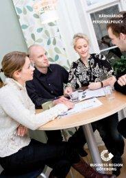 KÄRNVÄRDEN PERSONALPOLICY - Business Region Göteborg