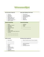 Download de wensenlijst(pdf) - Tuin en Water Idee