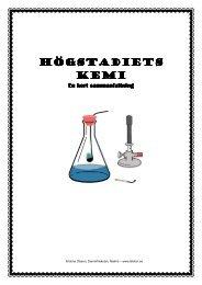 Atomen, periodiska systemet och kemiska reaktioner - Hagaskolan