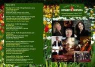 Våren 2013 Konsertprogram Våren 2013 - Karlskoga Konsertförening