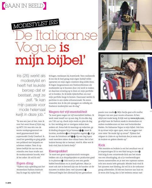 'De Italiaanse Vogue is mijn bijbel'