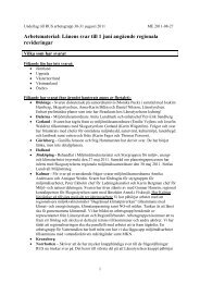 Arbetsmaterial: Länens svar till 1 juni angående ... - Länsstyrelserna
