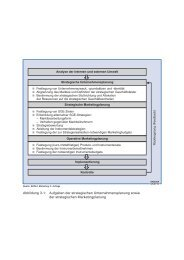 Abbildung 3-1: Aufgaben der strategischen Unternehmensplanung ...