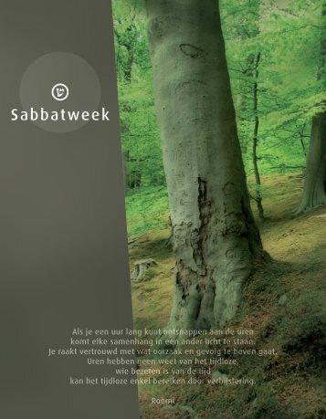 Sabbatweek - Groen en Partners