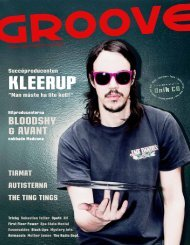 Groove 4 • 2008