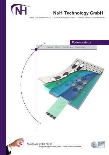 Folientastatur - N&H Technology