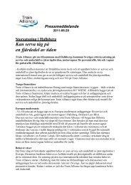 Storsatsning i Hallsberg (PDF) - Train Alliance