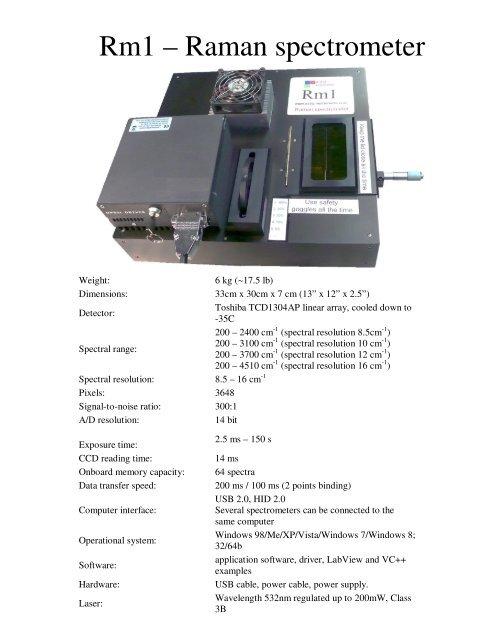 PDF specification - Aseq-instruments com