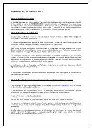 Règlement du Jeu « Jeu 20 ans TGV Nord » Article 1 ... - SNCF.com