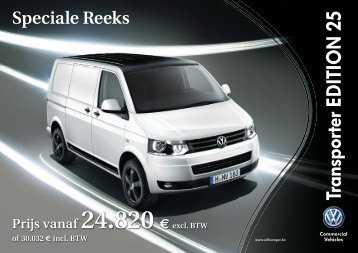 TRANSPORTER Edition 25.indd - Volkswagen Commercial Vehicles