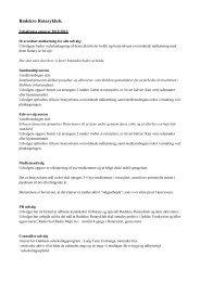 denne liste, se her. - Rotary Danmark