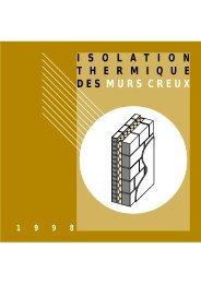 Isolation thermique des murs creux - Notre Maison Passive en Béton