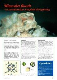 Artiklen er en pdf-fil på 223 kb - GeologiskNyt