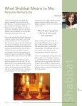 Celebrating Shabbat - Holy Blossom Temple - Page 5