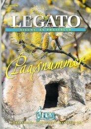 Legato 1ste kwartaal 2013 - Hardenbergs Christelijk Mannenkoor