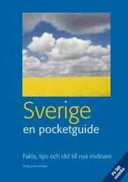 Sverige - en pocketguide - lätt svenska - Till Immigrant-institutets ...