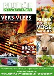 VERSE VERS VLEES - Nijhof Vee- en Vleeshandel