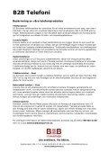 Produktblad B2B Telefoni (pdf) - B2B IT-Partner - Page 2