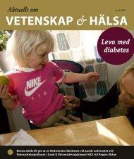 Leva med diabetes - Aktuellt om Vetenskap och Hälsa