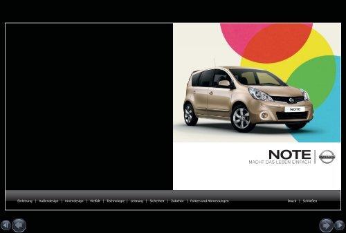 Nissan Note - Autohaus Wilk