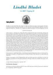 Lindhé Bladet VT05 - 2 (PDF) - Inbjudan fest 2010