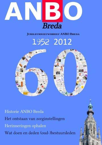 Jubileumnieuwsbrief 1952-2012 ANBO Breda