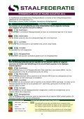 PERSBERICHT OVER DE MAAND AUGUSTUS 2011 - Staalfederatie - Page 2