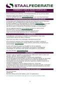 PERSBERICHT OVER DE MAAND AUGUSTUS 2011 - Staalfederatie - Page 3