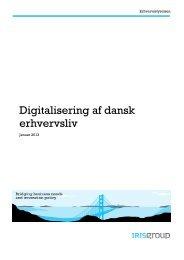 Digitalisering af dansk erhvervsliv - Erhvervsstyrelsen