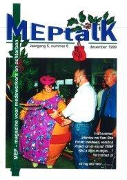 MEPtalk 1999-6 - eTNOs