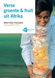 De AH Foundation - Fairmatch Support