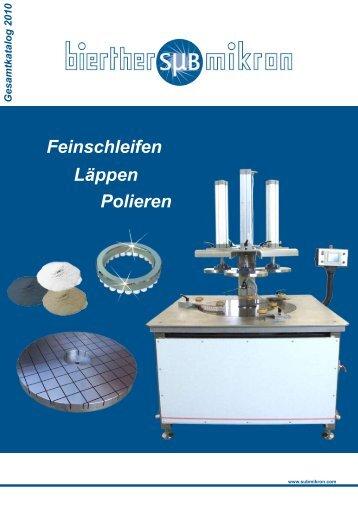 Gesamtkatalog 2009 im PDF Format - Bierther Submikron GmbH