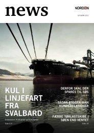Kul i linjefart fra Svalbard - Dampskibsselskabet NORDEN A/S