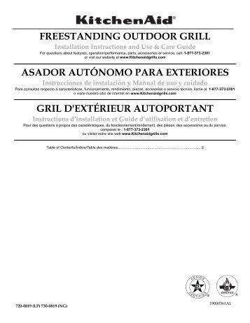 freestanding outdoor grill asador autónomo para exteriores gril d ...