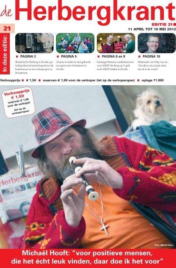 Herbergkrant 21 - April 2012