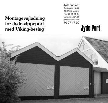 Trævippeporte med Viking beslag - Jyde Port