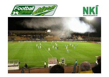 NKI-Kunstgræs seminar Football green live-red - Turfgrass