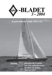 Safirblad 2004-3 - Dansk Safirklub