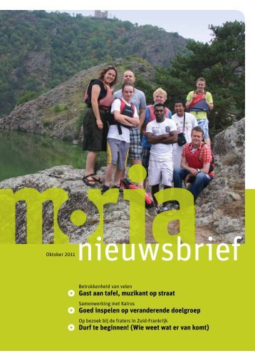 Nieuwsbrief oktober 2011 - Stichting Moria