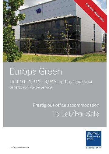 Unit 10 Brochure - Sheffield Business Park