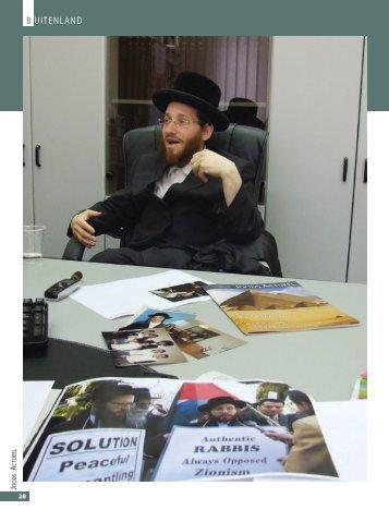 Friedman in Joods Actueel
