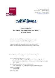 Draaiboek rally.pdf - LOGO Antwerpen